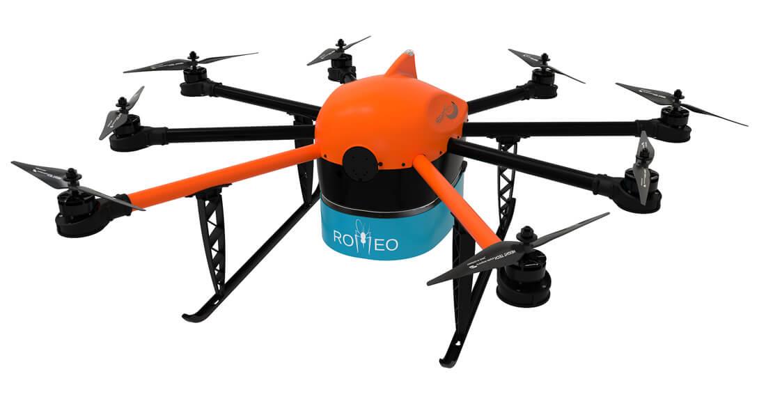 Moskitocopter Projekt ROMEO von HEIGHT TECH zur Bekämpfung von Mücken als Krankheitsüberträgern