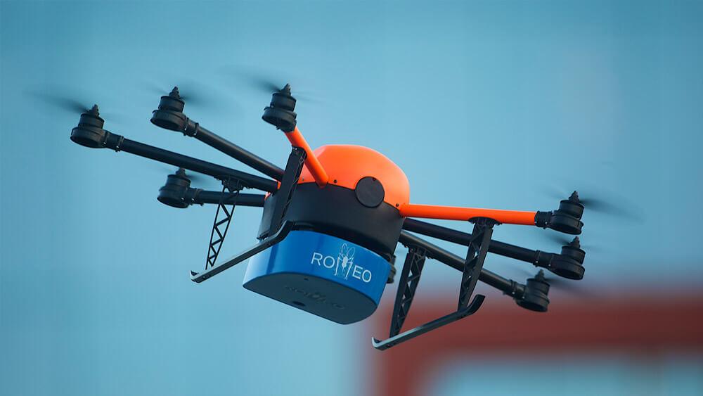 HEIGHT TECH Moskitocopter ROMEO im Flug