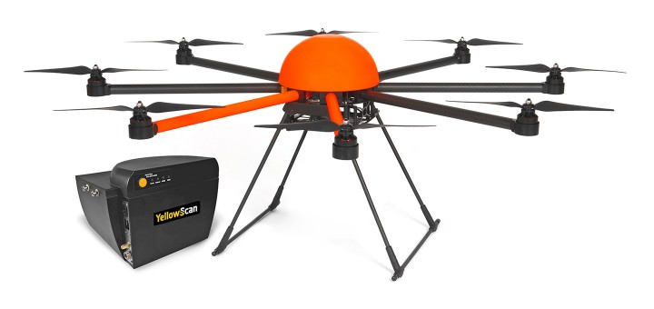 HEIGHT TECH HT-8 Drohne mit LiDAR Laserscanner