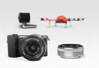HEIGHT TECH INSPECTOR S Paket Vermessung mit Kamera und zweitem Objektiv