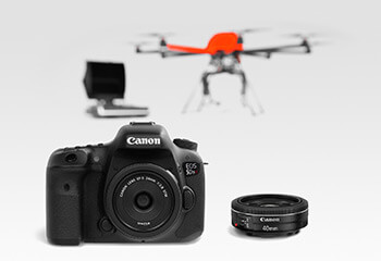 HEIGHT TECH HT-8 Paket High Resolution mit Canon DSLR Kamera