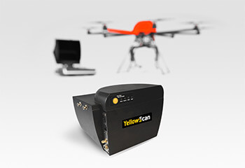 HEIGHT TECH HT-8 Paket LiDAR mit YellowScan Mapper Laserscanner