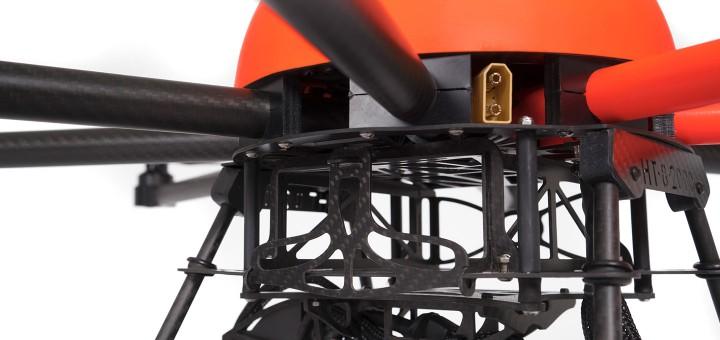 HEIGHT TECH HT-8 Drohne Akkuschacht für zwei Akkus