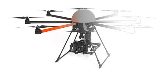 HEIGHT TECH HT-8 Multicopter Drohne