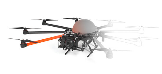 HEIGHT TECH HT-8 C180 Multicopter Drohne