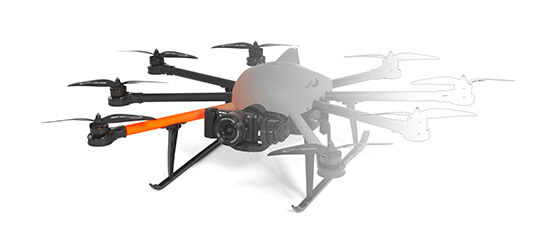 HEIGHT TECH INSPECTOR S Multicopter Drohne
