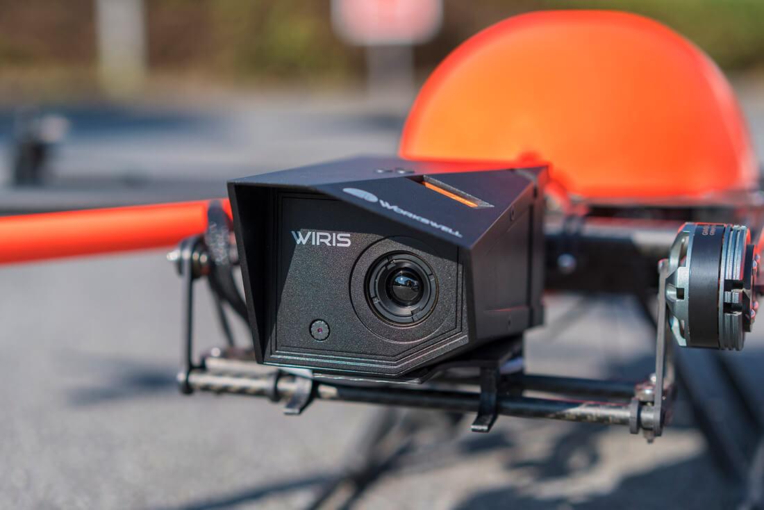Wiris Thermographie HT-8 C180 Kameraaufhängung